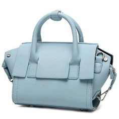 dc2ad22dc698 Sweet Solid Color and PU Leather Design Women s Tote Bag