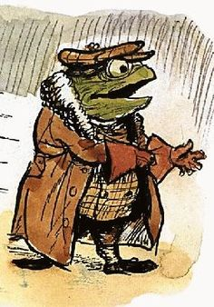 Reminds me of the frog and toad books I read as a kid