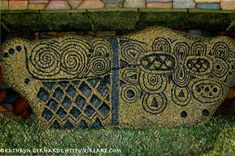 Newgrange stone markings - Ireland