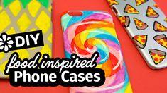 DIY Food Inspired Phone Cases | Sea Lemon | #sponsored