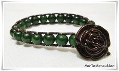 DIY Yeşil Bileklik / DIY Green Bracelet