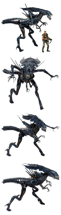 Aliens Xenomorph Queen Action Figure: Game Over, Man! One of the scariest science fiction movies I ever watched was Alien and its spin-offs were scary as well. Those Xenomorphs are creepy and hard to kill. The queen alien was the scariest of them all and if you are a big fan of the movies, you will want this action figure. - See more at: http://technabob.com/blog/2015/01/28/aliens-xenomorph-queen-action-figure/#sthash.wFXZ9zx0.dpuf