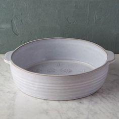 Embossed Terracotta Baking Dish, Large