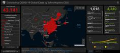 This interactive map from Johns Hopkins University shows the effects of coronavirus in real time — Quartz Gene Sequencing, Government Of Canada, International Health, Johns Hopkins University, Interactive Map, Health Department, New Year Celebration, Health Advice, Public Health