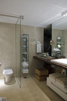arquiteturadoimóvel: Cimento Queimado em pisos, paredes e equipamentos. Você gosta?
