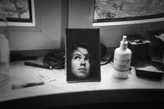 broken mirror by agoraphotic