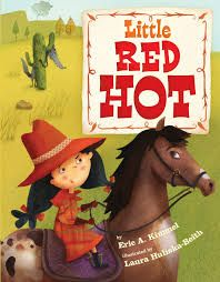 In this retelling of Little Red Riding Hood, Little Red Hot is a hot-pepper-loving, horse-riding, quiche-baking, big-bad-wolf-talking dynamo who figures out her own solutions. She is not perfect, but she figures out her mistakes and still finds a solution. http://www.2ndGradeReading.net  #2ndGrade