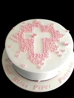 33 idéias de bolo de batizado modelos perfeitos! » Artesanato Brasil