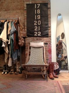 Narnia Vintage shop in Williamsburg NYC