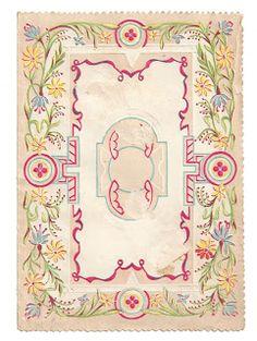 printable flower scrapbooking frame