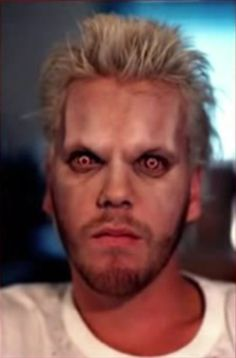 "Kiefer, makeup test for ""The Lost Boys"" (1987)"