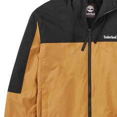 Men s Timberland Windbreaker Jacket - Wheat Boot Black Jackets 863eecc7b7