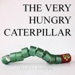 The Very Hungry Caterpillar Cardboard Roll Craft