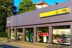 insegne luminose Cologno Monzese, insegne Cologno Monzese, insegne luminose Milano e Provincia, insegne luminose concessionarie auto General Motors OPEL Milano e Provincia