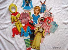 Одень куклу зимой. Бумажные куклы СССР -  http://samoe-vazhnoe.blogspot.ru/