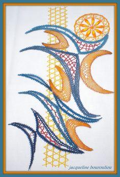 """Galerie"" Textile Fiber Art, Lacemaking, Lace Heart, Lace Jewelry, Bobbin Lace, String Art, Lace Detail, Butterfly, Lingerie"