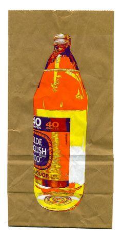 Bag painter