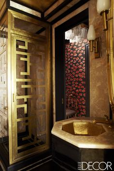 Guest Bath - ELLEDecor.com