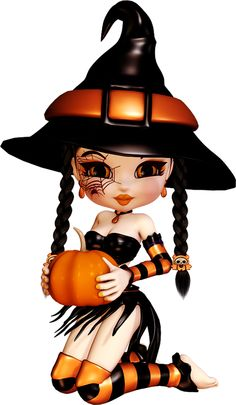 Special Halloween - Tubes Poser Cookie gratuits - Free Cookie Poser Halloween tubes