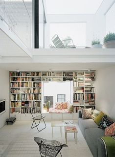 30 Marvelous Bookshelf Walls - ArchitectureArtDesigns.com
