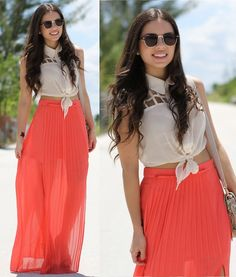 Maxi Skirts perfect for summer!