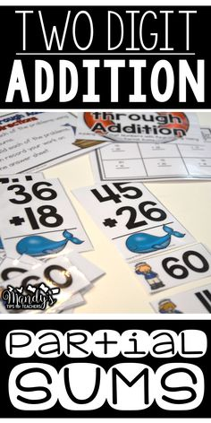 Six simple and engaging two-digit addition math centers that can be used at any time of the year!  The centers include a variety of adding strategies such as an open number line, partial sums, and using expanded form!