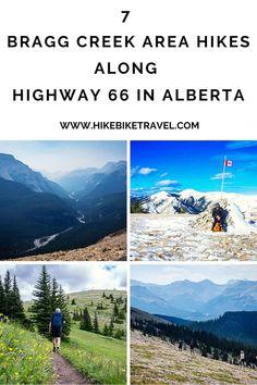 7 Bragg Creek Hikes along Highway 66 in Alberta - Hike Bike Travel Winter Hiking, Go Hiking, Hiking Trails, Bragg Creek, Alberta Travel, Canada Destinations, Visit Canada, Banff National Park, Best Hikes