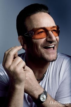 Bono -- I think he would be an exasperatingly fun dinner guest.