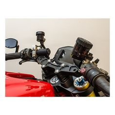 Woodcraft Clip-On Risers w/ Adapter Plate Ducati Monster 821 / 1200 / S