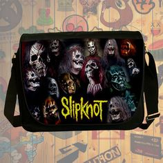 NEW Custom : Slipknot Heavy Metal Messenger School Laptop Bag By Gift Ideas #08