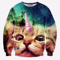 Unicorn Hoodies 3D Cats Clothing Men Thundercat/Grumpy Pusheen Cat Sweatshirts Mermaid/Bacon/bow Tie Kitty Pullovers Sweatshirt