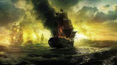 pirates-ship-on-fire-wallpaper-1920-1080-7349.jpg (1920×1080)