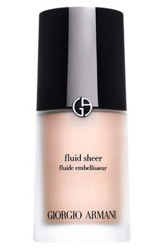 Giorgio Armani Fluid Sheer I add this to my armani foundation and it gives my skin a fresh pink glow, I love it, it looks very natural.