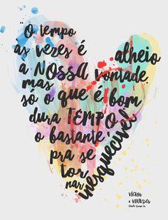 #charliebrownjr #frases #tipografia #amor #coraçao #musica #rock #89fm - VICIOS E VIRTUDES » Tipografia