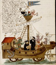 Nuremberg Shrovetide Carnival. German c, 1590-1640(?)---jesters-devils-musicians-clergy etc.