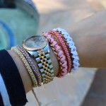 DIY:  Triple Ball Chain Bracelet