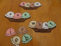 Sight Word Literacy Center Kindergarten Lesson Plan