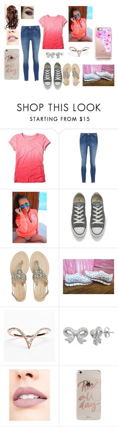 """""""Girly outfit"""" by rachieboo94 on Polyvore featuring Hollister Co., Converse, Antik Batik, Lord & Taylor, Tuttle, Jouer, Sonix and Casetify"""