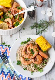 Bayou Shrimp Pasta