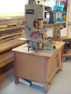 Woodgears Emco Star 6 In 1 Machine Woodworking Power Tools, Woodworking Machinery, Woodworking Ideas, Combination Woodworking Machine, Machine Tools, Kitchen Aid Mixer, Espresso Machine, Cool Furniture, Workshop