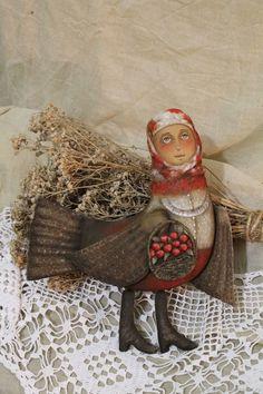 Райские яблочки...Птицы-дивы – купить в интернет-магазине на Ярмарке Мастеров с доставкой Paper Mache, Rustic Furniture, Handmade Art, Textile Art, Whimsical, Textiles, Brooch, Birds, Embroidery