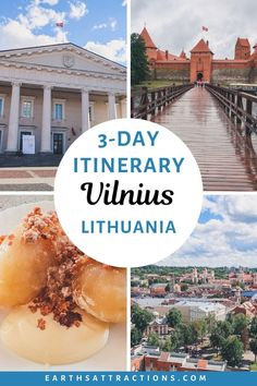 3 days in Vilnius, Lithuania: your perfect Vilnius itinerary – Attractions of the earth – locals travel guides, travel itineraries, travel tips and more – Wanderlust Voyage Europe, Europe Travel Guide, Travel Guides, Budget Travel, European Destination, European Travel, Destinations D'europe, Holiday Destinations, Lithuania Travel