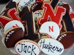 148 Cookie Street: Nebraska Football 1st Birthday