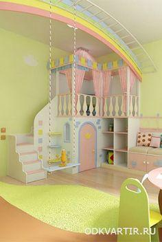 Ремонт в детской » Отделка и дизайн квартир
