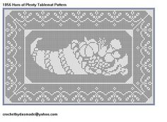 Free Filet Crochet Tablecloth Patterns | ... Filet Crochet Doily Afghan Pattern | CROCHETBYDASMADE - Patterns on