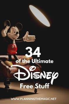 34 of the Ultimate Disney Free Stuff  Disney vacations can really get so expensive.  In order to do Disney on a budget, we have to cut costs where we can.  Below you will find 34 actionable and helpful freebies at Disney World.  Let's start saving money and talking Disney free stuff.  #Disneyland #DisneyWorld #DisneyFreeStuff