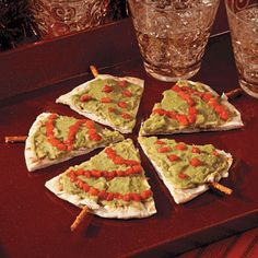 Pita Christmas Tree Appetizers - Free Christmas Recipes, Coloring Pages for Kids & Santa Letters - Free-N-Fun Christmas