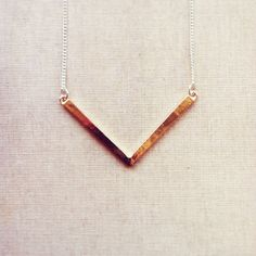 Hey, I found this really awesome Etsy listing at https://www.etsy.com/listing/183216205/triangle-necklace-v-necklace-geometric