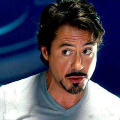 "Cute Tony Stark (in ""Iron Man"")"