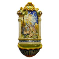 Leona Angels Holy Water Font  - Product Image